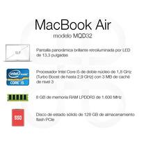 Macbook Air 2017 - 6 Cuotas Sin Interés