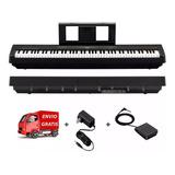 Piano Digital Yamaha P45 88 Teclas Pedal Fuente Envio Cuotas