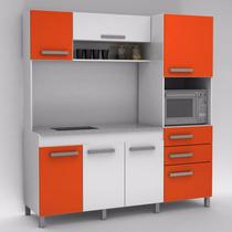 Mueble Integral Cocina Mesada Simil Granito Cuotas Y Envios