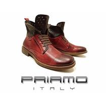 Botas Borcegos Puncture Priamo Italy Hombre [px001385]