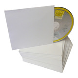 Sobre Cerrado De Papel Para Cd O Dvd X 100 Unidades