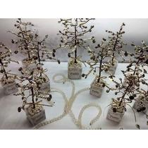 Árboles Artesanales De La Vida Con Maceta Souvenir Quince