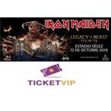 Entradas Iron Maiden Platea Alta Velez 2019
