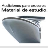 Material De Estudio Para Audiciones En Cruceros (2 Dvd's)