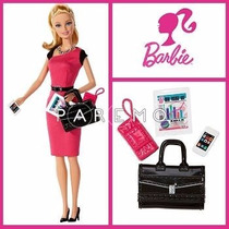 Muneca Barbie Entrepeneur De Empresaria Original De Mattel.