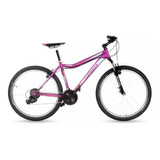 Bicicleta Mountain Top Mega Flamingo R26 21v Shimano + Linga