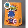 Bolsitas De Cumple Personalizadas Super Heroes