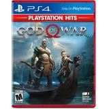 God Of War 4 Playstation 4 Ps4 Fisico Sellado Latino