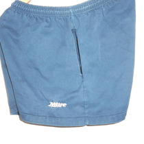Short Rugby Marca Mitre Azul Oscuro Talle 6 Tela 100%algodon