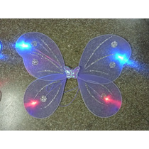 Alas De Mariposa De Tul Con Luces De Led Intermitente