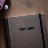Cuaderno Pentagramado 14,5x20cm Tapa Dura 80 Hojas