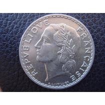 Francia - Moneda De 5 Francos, Año 1933 - Excelente