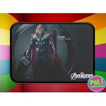 Cartuchera 2 Pisos Personalizada Thor Avengers Vengadores