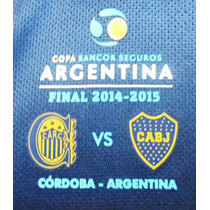 Parche Final Copa Argentina 2015 Boca Vs. Rosario Central
