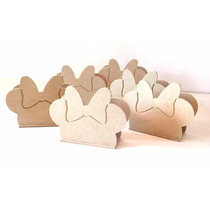 Servilletero Minnie Mouse, Fibrofacil, Cumpleaños, Souvenirs