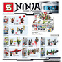Ninjago Ninja Lloyd 2016! Minifiguras X8 Sy Nuevo Sin Caja!