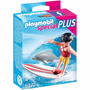 Playmobil Special Plus 5372 Niña Con Tabla De Surf Original!