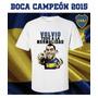 Remera Boca Campéon 2015