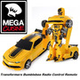Transformers Bumblebee Radio Control Remoto Transformable