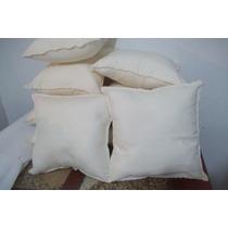 Fundas De Lienzo Polyester 30x30 Por Unidad