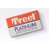100 Hojas / Filos Afeitar Treet Platinum Repuesto Barberia