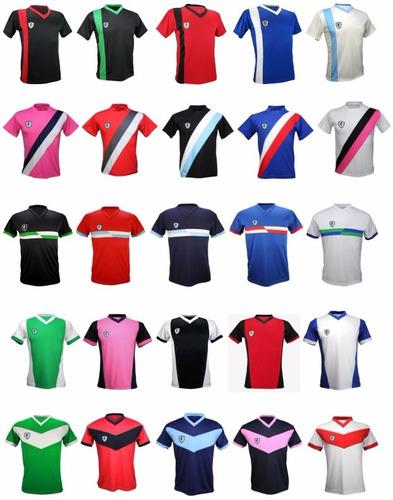 50028745f Pack 11 Camisetas Futbol Escudo Personalizado Y Numero Yakka ...