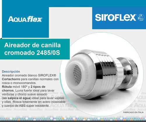 Aireador Para Monocomando Blanco Siroflex 2485/0s Aquaflex