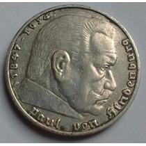 Tercer Reich - Alemania Nazi - 5 Reichsmark 1.936 F