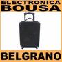 Bafle Portatil C/bateria Usb/mic 8 45watts Panacom Sp-3090