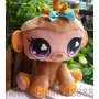 Imperdible Peluche De Littlest Pet Shop Monita 23 Cm