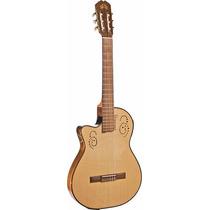 Guitarra Electroacústica La Alpujarra 300kec Para Zurdos