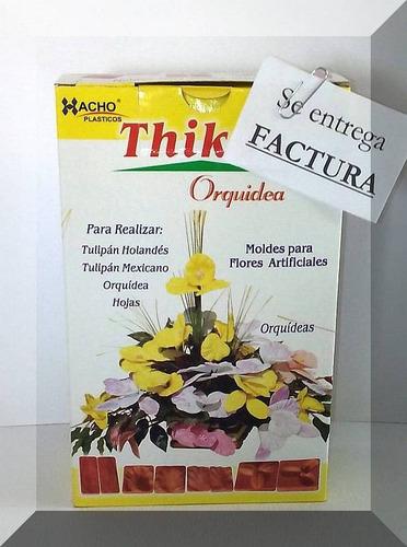 22fed1d606a 4 Pares D Moldes P  Flores Con Goma Eva- Kit Orquidea