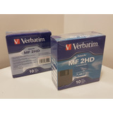 Diskette Verbatim 3.5 1.44mb Mf 2hd Datalife- Pack X10