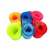 Precinto Abrojo Sujeta Cables Con Velcro De Colores Pack X6