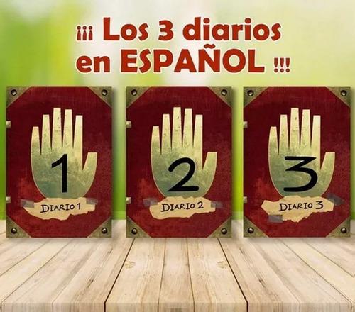 Diarios Gravity Falls Libro 1 2y3 En Espanol Compra Y Venta