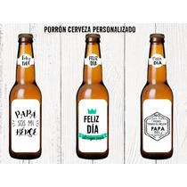 Cerveza Porron Personalizada Cumpleaños Aniversarios 50 Años