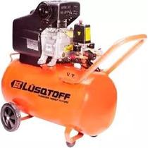Compresor De Aire 2,5 Hp 50 Lts Lusqtoff + Cuotas