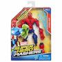 Mashers Muñecos Super Heroes Marvel Varios Modelos Hasbro