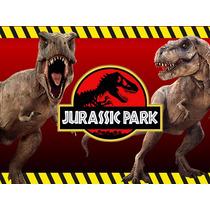 Kit Imprimible Candy Bar Jurassic Park Dinosaurios Golosinas