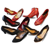 Zapato Sarkany Paruolo Stilettos Negro Mujer Feria Americana