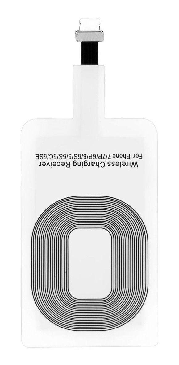 RECEPTOR WIRELESS QI USB Lightning (Iphone)