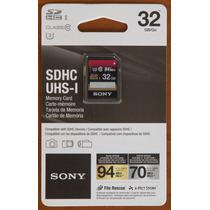 Tarjeta Sony Sdhc 32gb - 94mb - Alta Velocidad - Class 10 U3