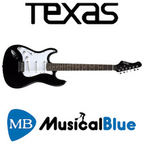 Guitarra Electrica Texas Zurda Tipo Str Eg-p15lb-tex
