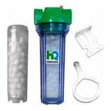 Filtro Agua Polifosfato Hidroquil Antisarro 1'' Sarro Caños