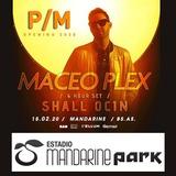 Entrada Maceo Plex - 15-02 Mandarine Park - Ticketspass