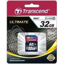Memoria Sd Transcend 32 Gb Clase 10.