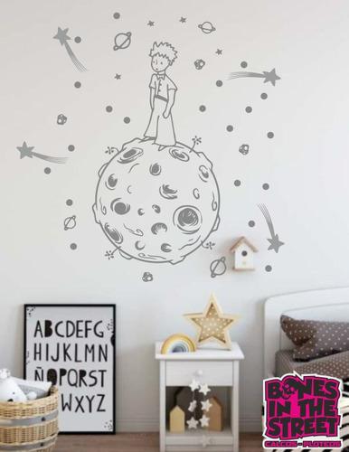 Vinilos Decorativos Planetas.Vinilos Decorativos El Principito Estrella Fugaz Planetas En