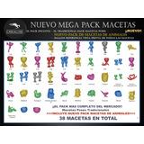 Mega Pack Macetas Stl Para Impresión 3d