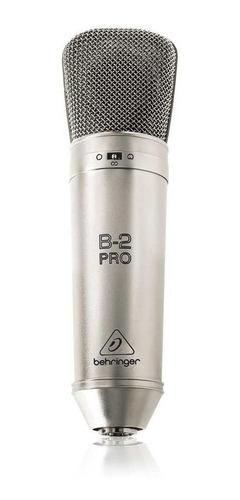 Micrófono Behringer B-2 Pro Condensador Dorado