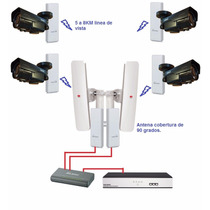 Kit Vigilancia Urbana Camara Ip Nvr 8tb Inalabrico 5ghz Wifi